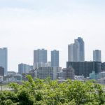 川崎市武蔵小杉の遠景写真
