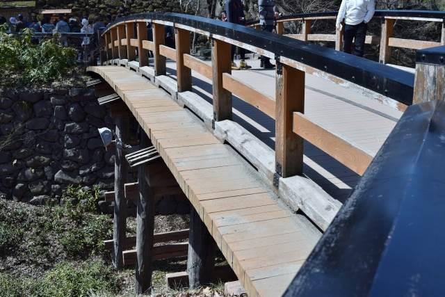 小諸城の橋の写真