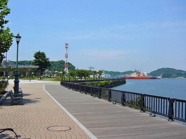 横須賀ヴェルニー公園の写真
